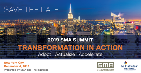 2019 SMA Summit Save the Date banner